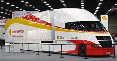 Shell postawił na opływowe kształty